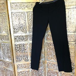 NWT Ann Taylor Modern Fir Trouser Pant in Black